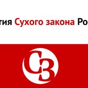 Партия Сухого закона России, флаг