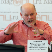 Melekhin Valery Ivanovich Lider of The All-Russian Public Political Organization Prohibition Party (Russia)