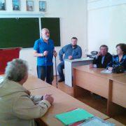 Коммунистический мастер-класс по северной ходьбе в Каменск-Уральске